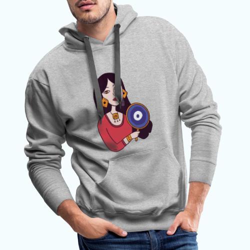 Fashion Girl - Men's Premium Hoodie