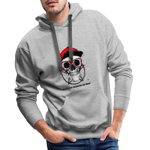 PlaceitT Shirt Design Generator Featuring a Hipste - Sweat-shirt à capuche Premium pour hommes