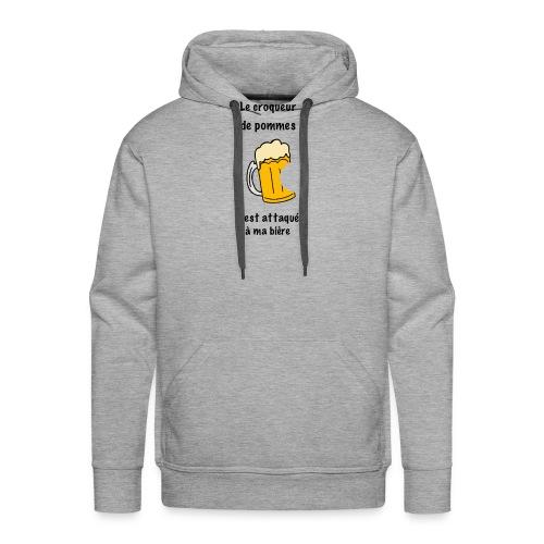 2527192B E9AC 4F3F 9E77 A984C81E9503 - Sweat-shirt à capuche Premium pour hommes