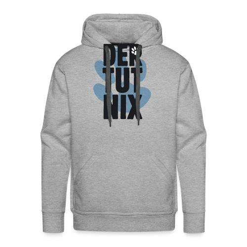 Der tut nix (blau) - Männer Premium Hoodie