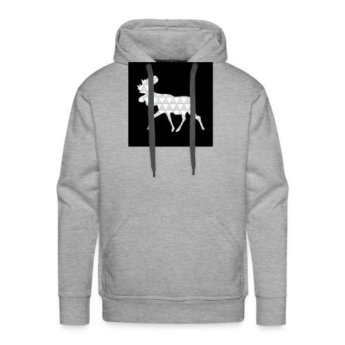 Moose Walk - Men's Premium Hoodie