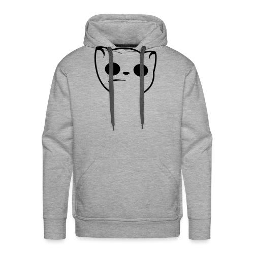 Hypnocat Weiss - Frauen - Männer Premium Hoodie