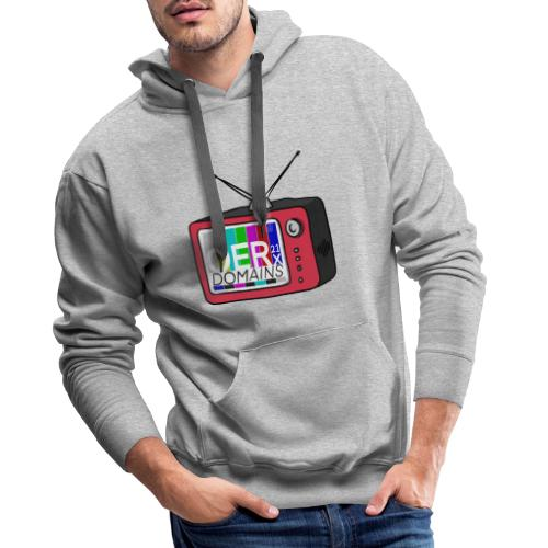 OERxDomains21 - TV - Men's Premium Hoodie