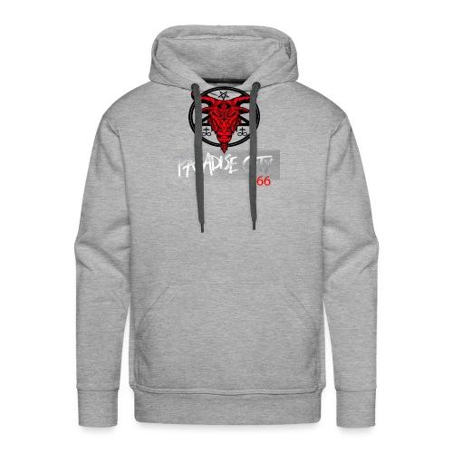 satan city - Sweat-shirt à capuche Premium pour hommes
