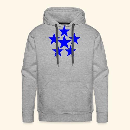 5 STAR blau - Männer Premium Hoodie