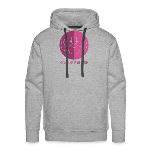 Muscle Rose - Sweat-shirt à capuche Premium pour hommes