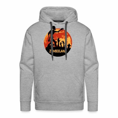 Zombieland Halloween Design - Männer Premium Hoodie