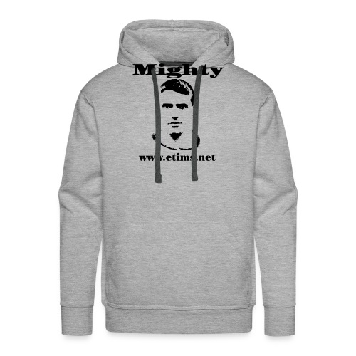 spreadshirt mighty 1 - Men's Premium Hoodie