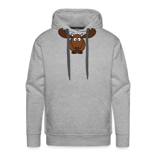 T-Shirt selbst gestalten sehr billig Elch - Männer Premium Hoodie