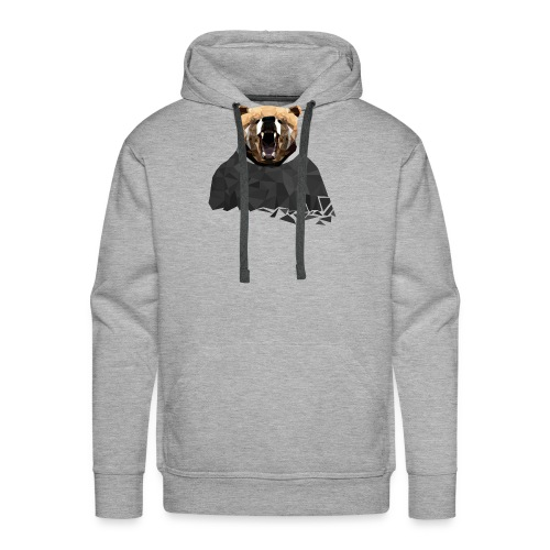 Explosive Bear - Men's Premium Hoodie