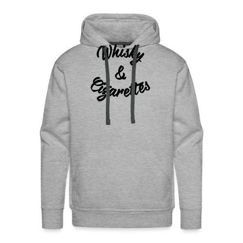 Whisky and Cigarettes - Männer Premium Hoodie