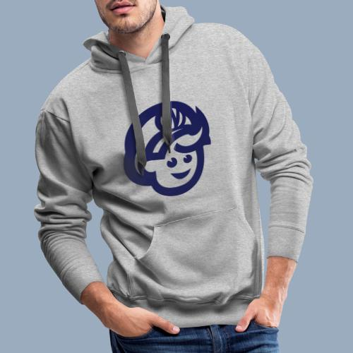 logo bb spreadshirt bb kopfonly - Männer Premium Hoodie