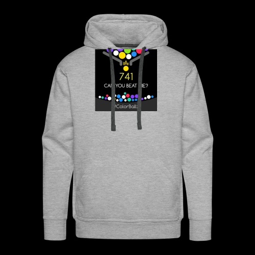 color ballz - Sweat-shirt à capuche Premium pour hommes
