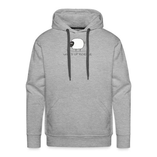 logo_wor_-3- - Mannen Premium hoodie
