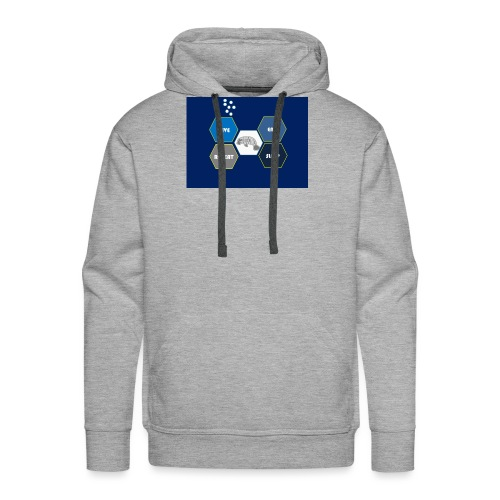 Dive_sleep_repeat_Hexagonal_v1-0_20161118 - Men's Premium Hoodie