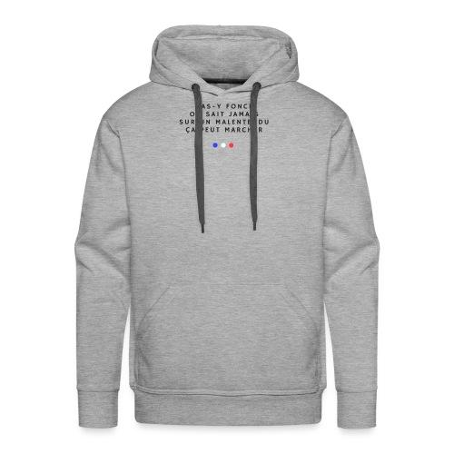 Sur un malentendu - Sweat-shirt à capuche Premium pour hommes