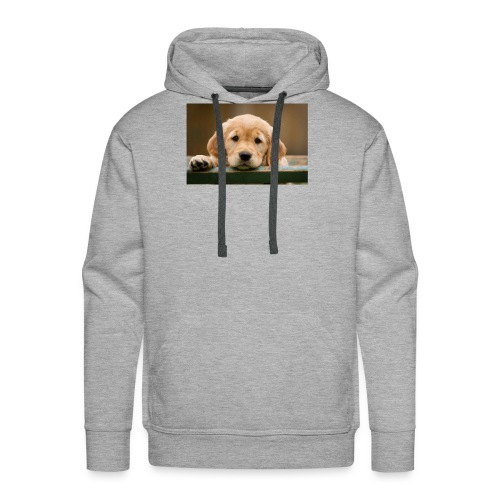 mooi hondje - Mannen Premium hoodie