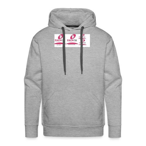 pacafm - Sweat-shirt à capuche Premium pour hommes