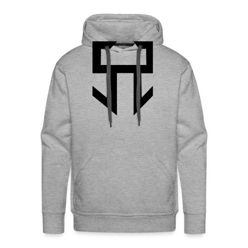 stranger logo - Sweat-shirt à capuche Premium pour hommes