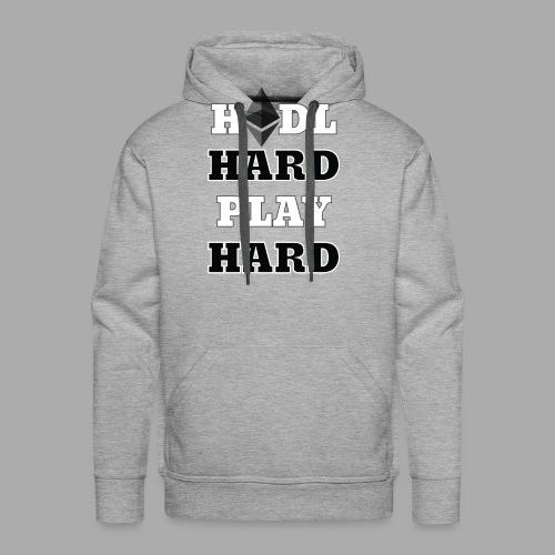 hhphETH - Bluza męska Premium z kapturem