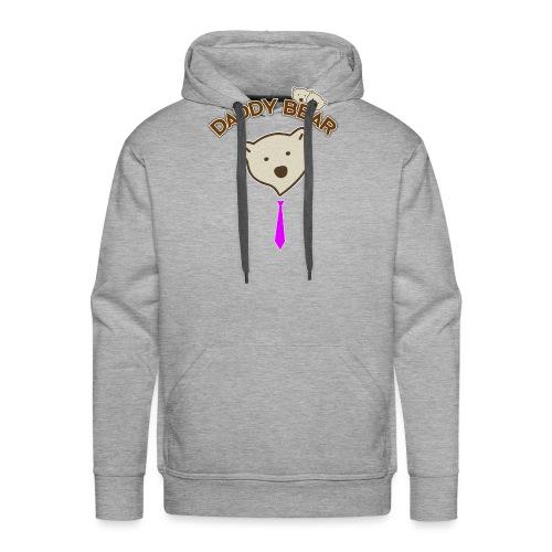 Daddy bear sweatshirt - dad sweatshirt papa bear - Sudadera con capucha premium para hombre
