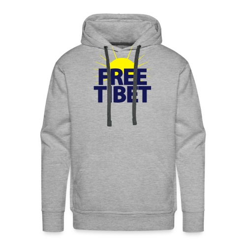 Free-Tibet Team Tibet - Männer Premium Hoodie