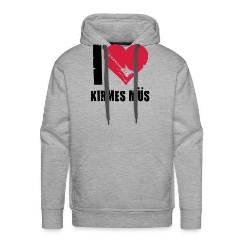 I Love Kirmes Müs - Männer Premium Hoodie