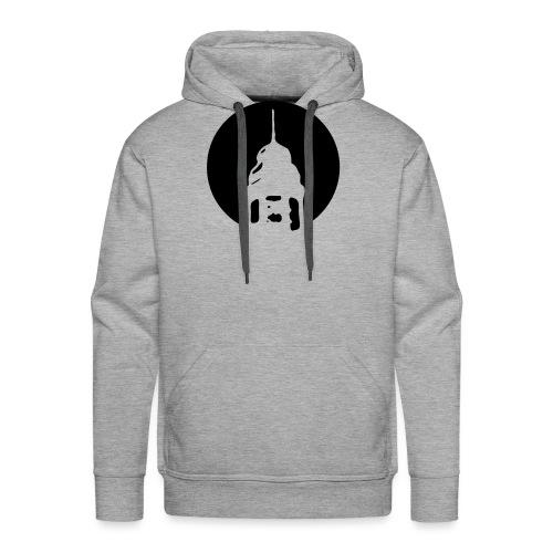 Logo invertiert (Alternative Farben) - Männer Premium Hoodie