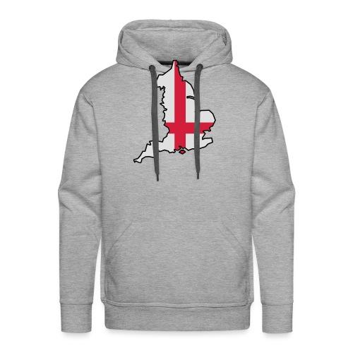 England & Flag - Men's Premium Hoodie