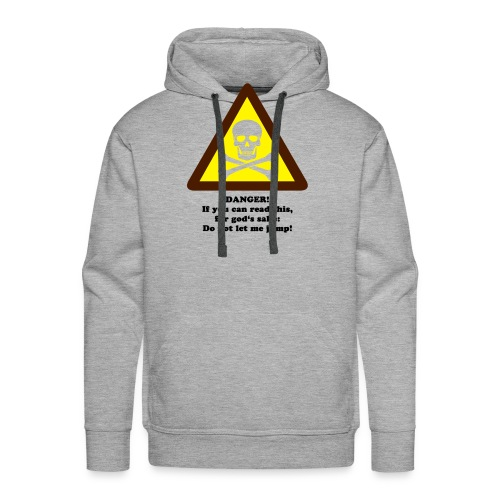 Do not let me jump - Männer Premium Hoodie
