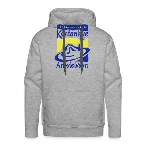logo simpel 2 - Mannen Premium hoodie