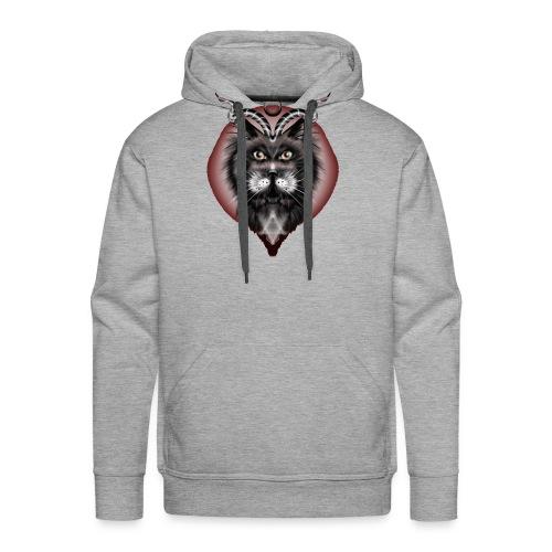 chat du diable - Sweat-shirt à capuche Premium pour hommes