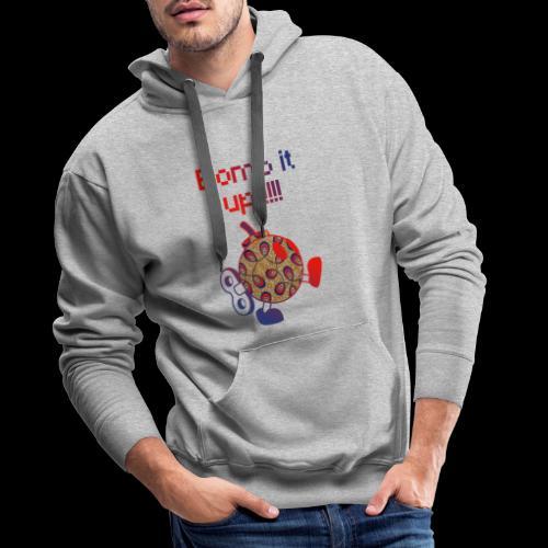 Bomb It Up : Red Power !!! - Sweat-shirt à capuche Premium pour hommes