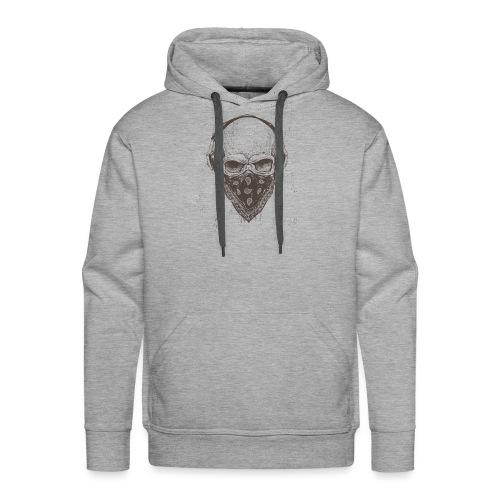 Skull Rock - Herre Premium hættetrøje