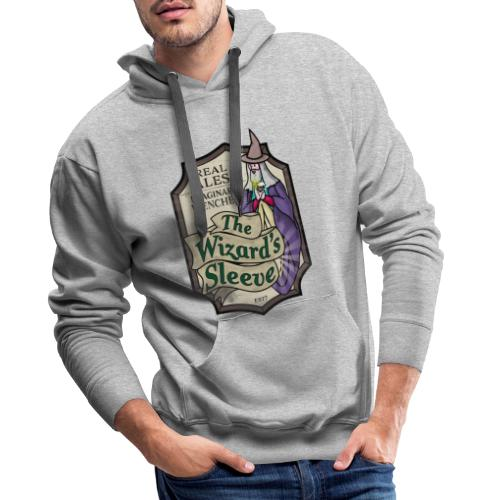 Wizard's Sleeve Pub Sign - Men's Premium Hoodie