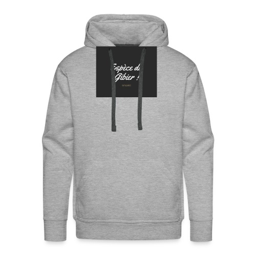 éspèce de gibier - Sweat-shirt à capuche Premium pour hommes