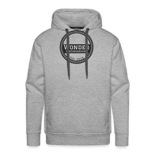 Wonder Longsleeve - round logo - Herre Premium hættetrøje