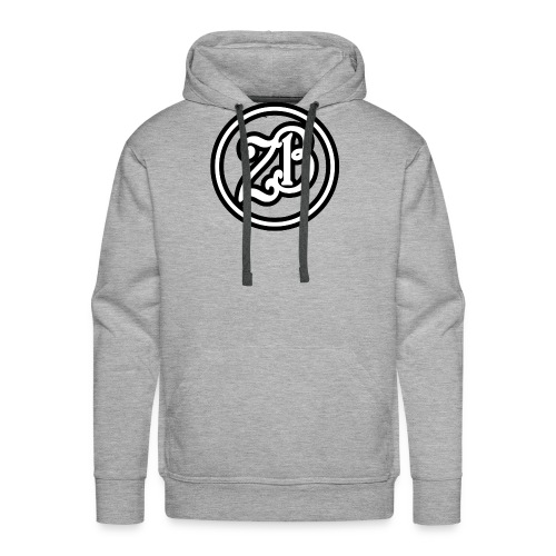 ZB Vlogs Hat - Graphite/Black - Men's Premium Hoodie