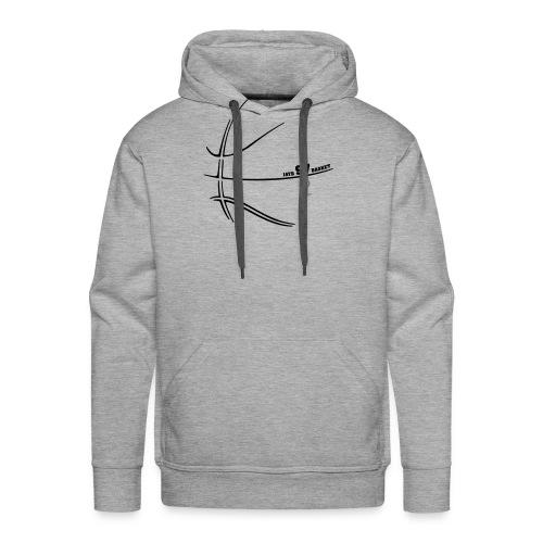 Basket empreinte 972 - Sweat-shirt à capuche Premium pour hommes