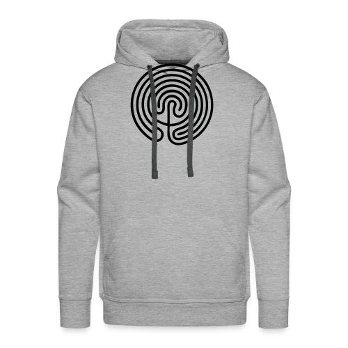 Labyrinth Men - Sweat-shirt à capuche Premium pour hommes