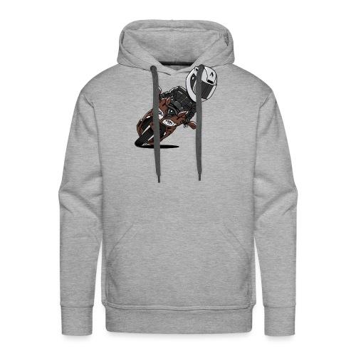 0791 FJR MagneticBronze - Mannen Premium hoodie