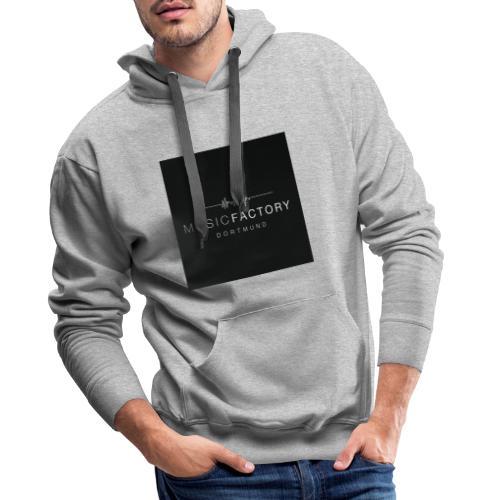 Logo MuFa schwarz - Männer Premium Hoodie
