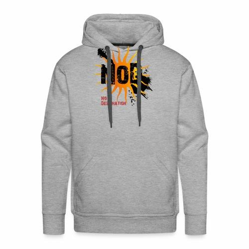 logo black - Männer Premium Hoodie