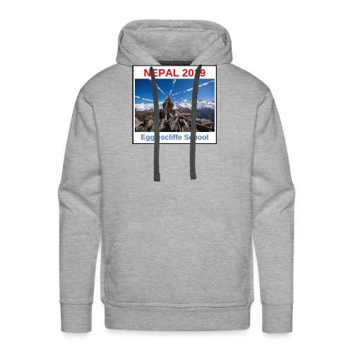 Nepal Egglescliffe School T-shirt Version 1 - Men's Premium Hoodie
