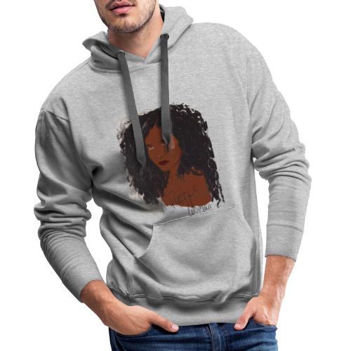 Fierce woman - Sweat-shirt à capuche Premium pour hommes