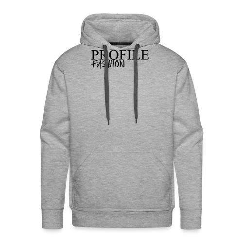profile fashion - Sweat-shirt à capuche Premium pour hommes