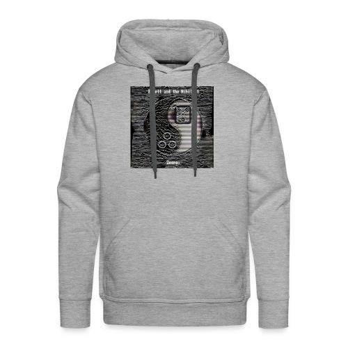 ZEERO front - Sweat-shirt à capuche Premium pour hommes