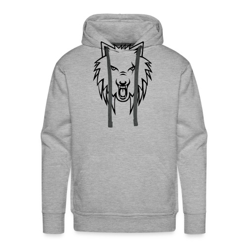 Apollo Wolf Transparent - Men's Premium Hoodie