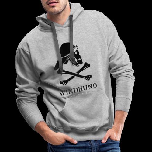 ~ Windhund ~ - Männer Premium Hoodie