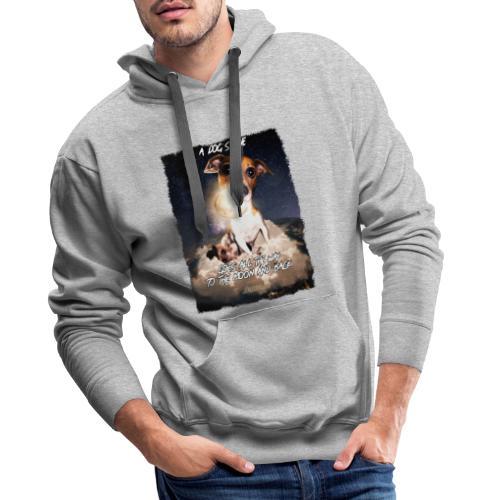A dog's love - Mannen Premium hoodie